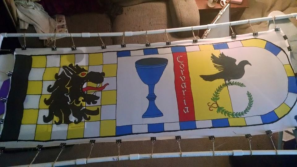 Shire Banner on Silk