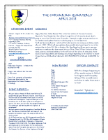 Corvarian Quarterly April 2018
